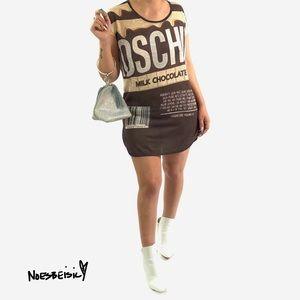 Moschino Milk Chocolate Shirt Dress